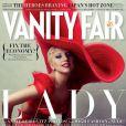 Lady Gaga en couverture de  Vanity Fair , shootée par Annie Leibovitz, janvier 2012.