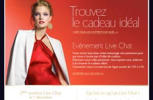 Estée Lauder Live Chat : des experts beauté rien que pour vous