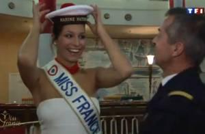 Miss France 2012 : Laury Thilleman et les 33 Miss, sexy et glamour, en matelots