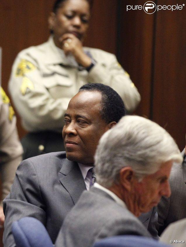 Conrad Murray lors de son procès le 29 novembre 2011