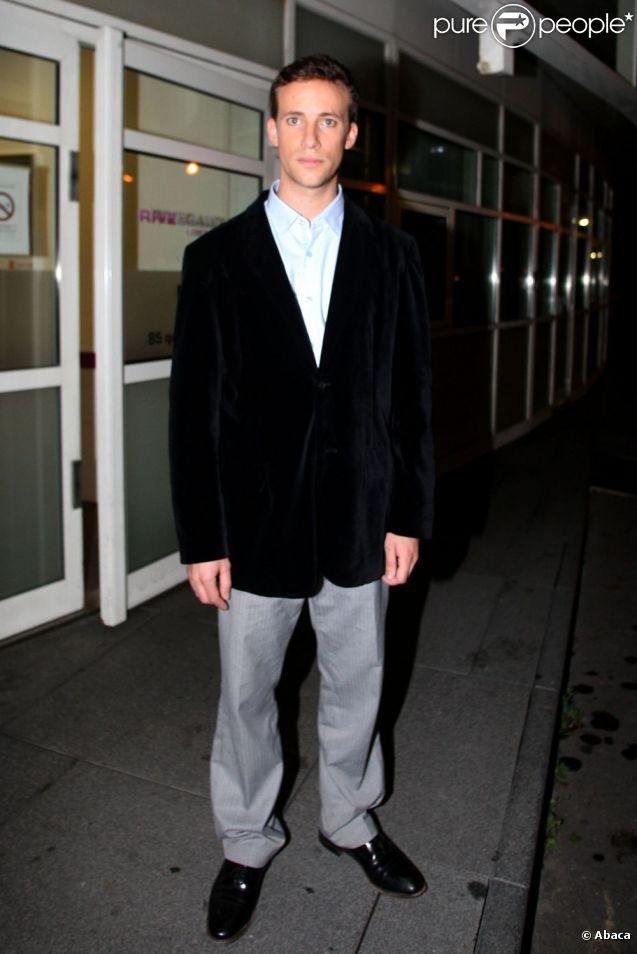 Laurent de Villiers après un passage au Grand Journal de Canal+, le 2 novembre 2011.