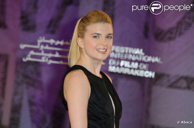 Cécile Cassel au Festival international du film de Marrakech, le 6 décembre 2011.