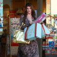 Kirstie Alley fait du shopping à Los Angeles le 7 décembre 2011