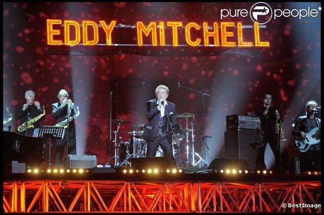Eddy Mitchell aux Victoires de la musique, le 1er mars 2011.