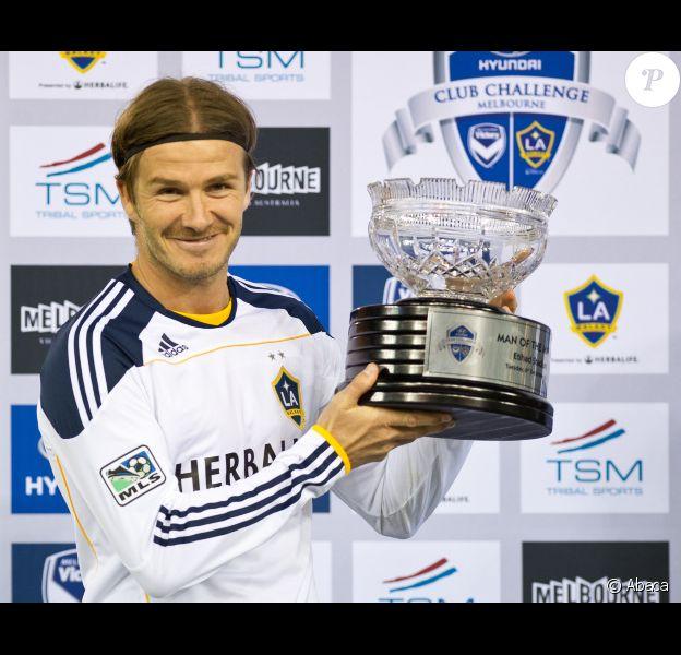 David Beckham le 6 décembre 2011 à Melbourne