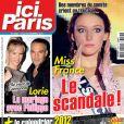 Le magazine  Ici Paris  du mercredi 14 décembre 2011.