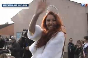 Delphine Wespiser : Un accueil triomphal pour Miss France, de retour en Alsace
