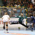 Paule Baudouin le 18 décembre 2011 à Sao Paulo au Brésil lors de la finale des Championnats du monde de handball perdue face à la Norvège