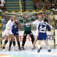 Alexandra Lacrabère le 18 décembre 2011 à Sao Paulo au Brésil lors de la finale des Championnats du monde de handball perdue face à la Norvège