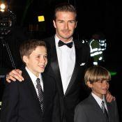 David Beckham fier de présenter Brooklyn et Romeo à la duchesse Catherine