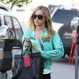 Ashley Tisdale à Los Angeles le 21 décembre.