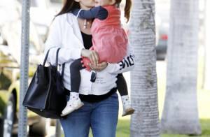 Jennifer Garner, enceinte : Manucure et gros câlin avec l'adorable Seraphina