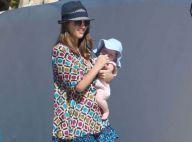 Jessica Alba : Toujours sur la plage et devient gaga de son bébé Haven
