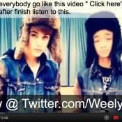 Justin Bieber : Un duo avec le fils de Will Smith mielleux à souhait pour 2012