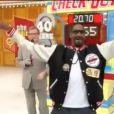 Snoop Dogg dans le Juste Prix américain, le 2 janvier 2012