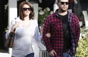 Jack Osbourne : Balade avec sa fiancée enceinte, qui affiche ses jolies rondeurs