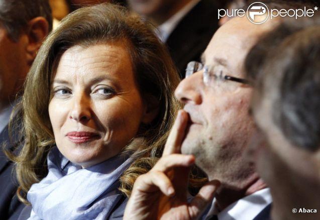 Valérie Trierweiler, séduite par François Hollande le 7 janvier 2012 à Tulle