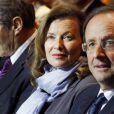 Valérie Trierweiler et François Hollande le 7 janvier 2012 à Tulle