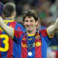 Lionel Messi, le 28 mai 2011 à Londres