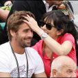 Nolwenn Leroy et son chéri Arnaud Clément, les amoureux dans les tribunes de Roland Garros