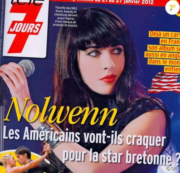 Nolwenn en couverture de Télé 7 Jours