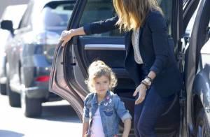 Jessica Alba : Businesswoman, elle n'oublie pas son rôle de maman poule