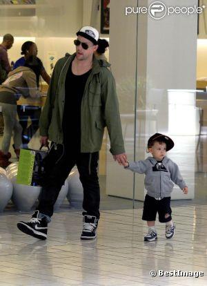Joel Madden et son fils Sparrow : tel père tel fils !
