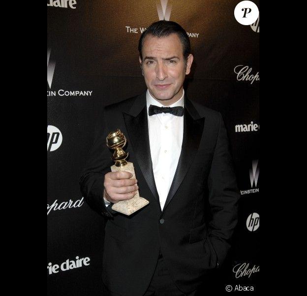 Jean Dujardin à l'after party des Golden Globes, le 15 janvier 2012 à Los Angeles.