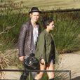 Vanessa Hudgens et Austin Butler, très amoureux, à Los Angeles, le 10 janvier 2012