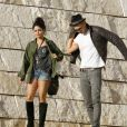 Vanessa Hudgens et Austin Butler très amoureux, à Los Angeles, le 10 janvier 2012