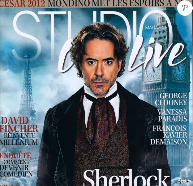 Retrouvez le dossier et les interviews de Sherlock Holmes : Jeu d'ombres dans Studio Ciné Live, février 2012.