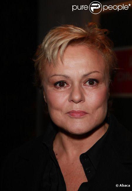 Muriel Robin en janvier 2011 à Paris