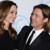 Angelina Jolie et Brad Pitt : Complices et amoureux pour le sacre de The Artist