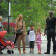 Heidi Klum et Seal entourés de leurs enfants