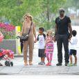 Heidi Klum et Seal et leurs enfants