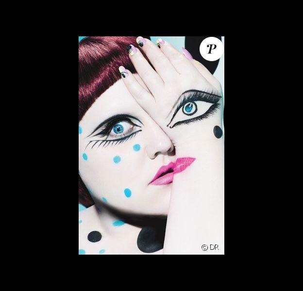 Beth Ditto dans un visuel de la collection MAC Cosmetics