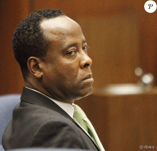 Conrad Murray en septembre 2011 à Los Angeles lors de son procès