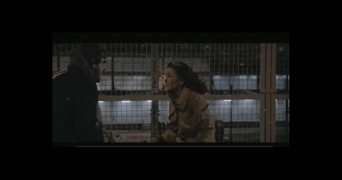 jenifer une sc ne de m nage et un amour virulent dans le clip de l 39 amour fou. Black Bedroom Furniture Sets. Home Design Ideas
