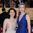 Jane Lynch et son épouse Lara Embry à la cérémonie des Screen Actors Guild Awards, à Los Angeles, le 29 janvier 2012.