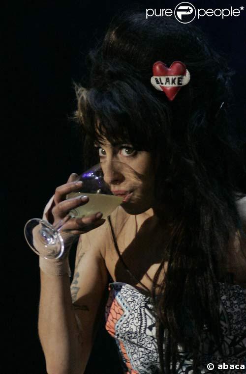 Amy Winehouse à un festival de Rock à Lisbonne