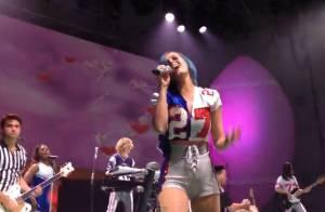 Katy Perry au Super Bowl : Sublime et dragueuse lors d'un show explosif