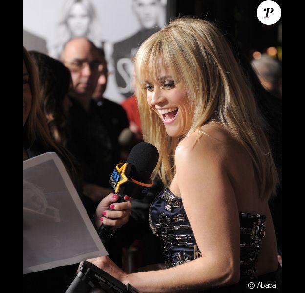 Reese Witherspoon à l'avant-première de Target, à Los Angeles le 8 février 2012.