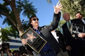Paul McCartney enfin étoilé, devant sa belle et Neil Young