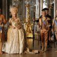 Diane Kruger et Xavier Beauvois dans Les Adieux à la reine de Benoît Jacquot.