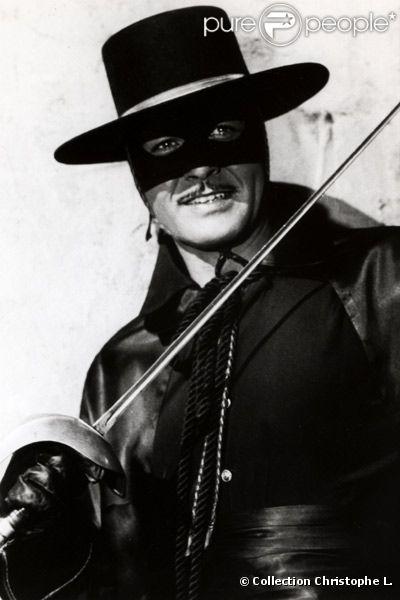 Guy Williams en Zorro pour la série de Disney