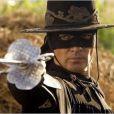 Antonio Banderas dans La Légende de Zorro