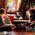 Harry (Daniel Radcliffe), Ron (Rupert Grint) et Emma Watson (Hermione)