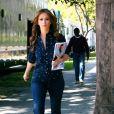Jennifer Love Hewitt sur le tournage de The Client List, le 21 février 2012 à Los Angeles