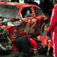 Juan Pablo Montoya a été victime d'un terrible accident de Nascar le 27 février 2012 à Daytona. Plus de peur que de mal.