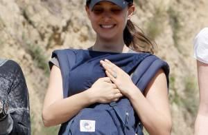 Natalie Portman promène son fils Aleph et laisse planer le doute...